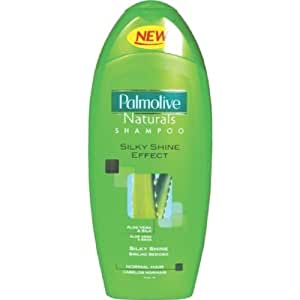 Palmolive naturals silky shine effect shampoo 400ml - Pack of 4