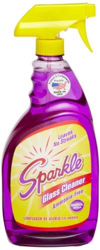 A J Funk & Co 20345 Sparkle Glass Cleaner, Original Purple Formula, 33.8-Ounce Trigger Bottle (Sparkle Cleaner compare prices)
