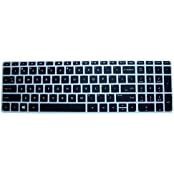 Saco Chiclet Keyboard Skin For HP Pavilion 15-p206tx Notebook? Black With Clear