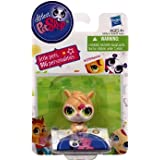 Littlest Pet Shop Single Figure Brown Hampster