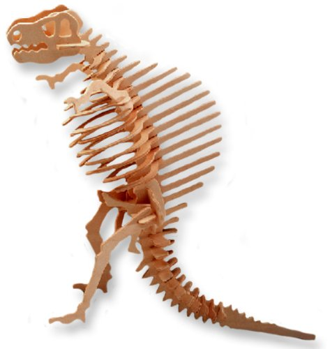 3-D Wooden Puzzle - Small Spinosaurus -Affordable Gift for your Little One! Item #DCHI-WPZ-J009A