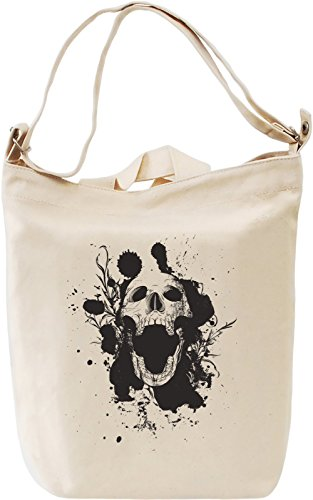 Skull ink Borsa Giornaliera Canvas Canvas Day Bag| 100% Premium Cotton Canvas| DTG Printing|