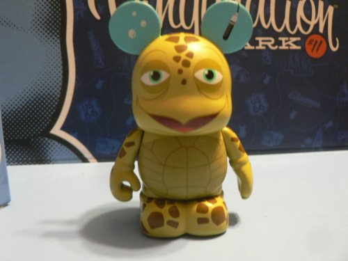 Park Series 11 Turtle Talk with Crush California Adventure Disney Vinylmation 3 Figure - 1