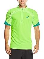 Asics Camiseta Manga Corta L2 (Verde)