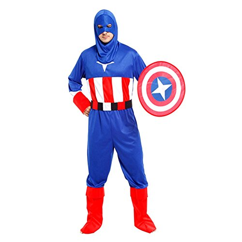 The Victory of Cupid Captain America Classic Clothing with a Shield