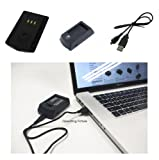 PowerSmart Digital Camera/Cell Phone/ Mobile Phone USB Battery Charger/Power Adapter for UK Toshiba Camileo S30