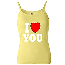 I Love You Women's Spaghetti Tank Top