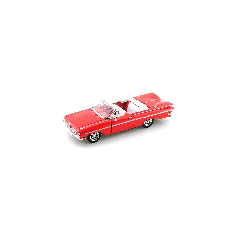 1959 Chevy Impala Convertible 1/32 Red