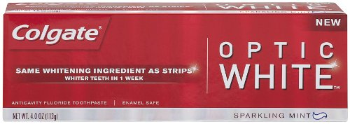 Colgate Optic White Toothpaste, 4 Ounce (Pack of 2)