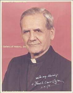 Paul E. Cardinal Leger - Photograph Signed 10 01 1974 - Autographed College Photos by Sports+Memorabilia
