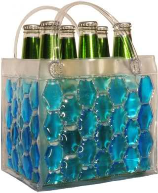 Chill It Bags Beer Cooler Bag Blue