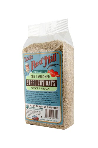 Bob's Red Mill Organic Steel Cut Oats, 4 - 24-Ounce bags