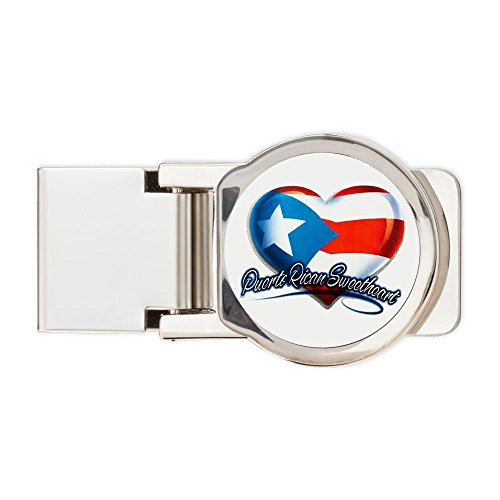Royal Lion Round Money Clip Puerto Rican Sweetheart Rico Flag