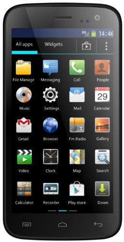 Mobistel MT-7521S Cynus F4 Smartphone (1,3GHz Dual Core Prozessor, micro SD, Dual Sim, 11,4 cm (4,5 Zoll) IPS Display, 5 Megapixel Kamera, Bluetooth 4.0, NFC, Android 4.2) schwarz