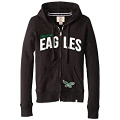 NFL Philadelphia Eagles Ladies Pep Rally Full Zip Hoodie by