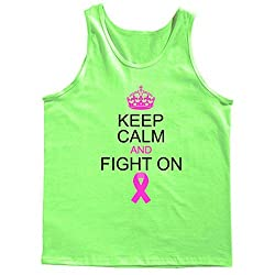 Keep Calm And Fight On Support Tank Top
