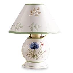 Lenox Artist Sketchbook Porcelain Candle Lamp