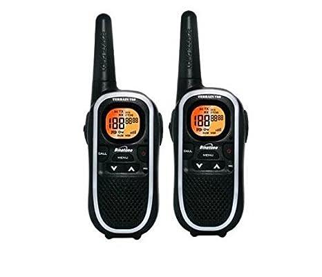 Binatone Terrain 750 paire de talkies walkies avec écran LCD - Portée en champs libre 8km - Noir