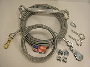 Heavy Duty Dog Cable Run Bing Images