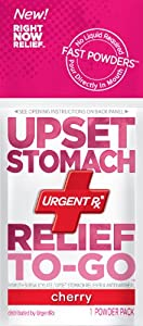 UrgentRx Upset Stomach Relief to Go Powder, 12 Count