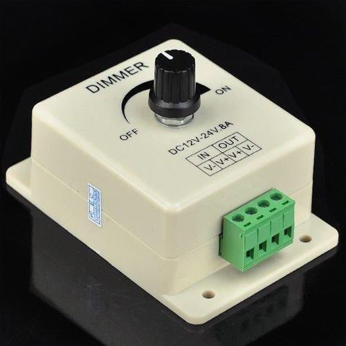 Ledjump Pwm Dimming Controller For Led Lights Or Ribbon 3528 5050 Strip 12V 8A Dimmer