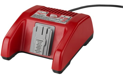 Milwaukee 48-59-2818 18-Volt to 28-Volt Lithium-Ion and NiCad Slide Style 1-Hour Battery Charger