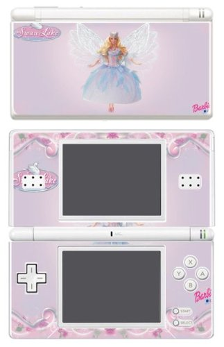 Barbie Dolls Dress Up Games Decal Cover Vinyl Skin Protector 1 for Nintendo DS Lite