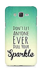 AMEZ dont let anyone dull your sparkle Back Cover For Samsung Galaxy J7