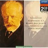 チャイコフスキー:交響曲第1番,第2番,第3番