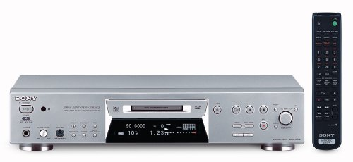 Sony MDS-JE780/S  Static Mini Disc Player
