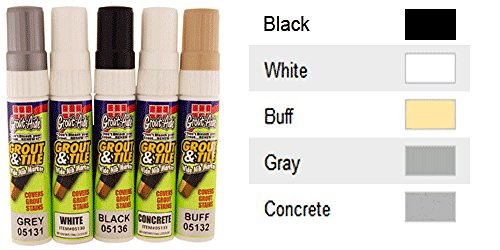 SKM Grout Aide Wide Nib Grout Marker (White) (Grout Paint White compare prices)