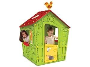 Keter 005442 Jeu De Plein Air Maison De Jardin Pour Enfant 110 X 110 X 146 Cm