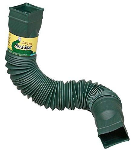 flex drain 85011 downspout extension green. Black Bedroom Furniture Sets. Home Design Ideas