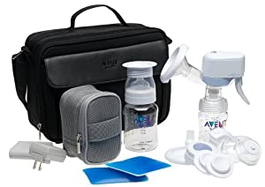 complete handheld electronic breast pump