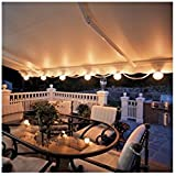 SunSetter Patio Awning Lights - Awning Attachment (White) (6 lights)
