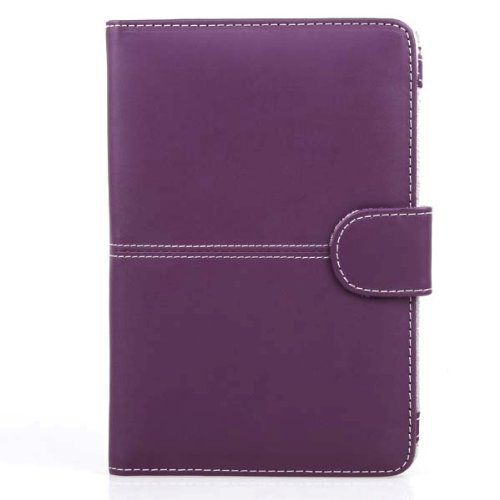 Neewer Leather Case For Amazon Kindle 3 eBook Reader PURPLE
