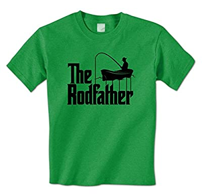 The RodFather - Funny Godfather Fishing Joke Fisherman Mens T-Shirt
