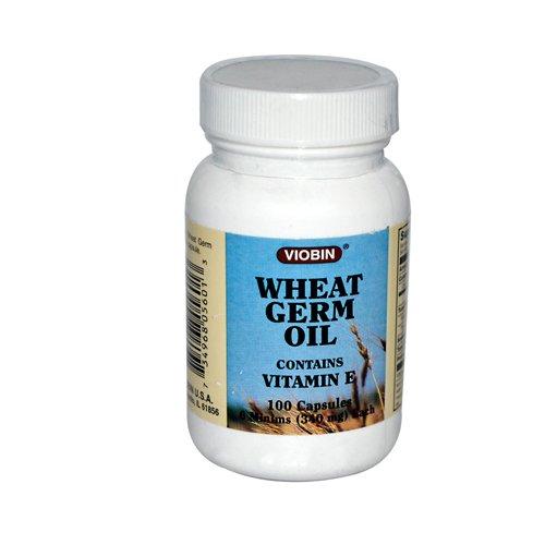 Viobin Wheat Germ Oil 340 Mg 100 Capsules