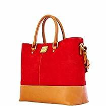 Dooney & Bourke Nubuck Chelsea Shopper, Red