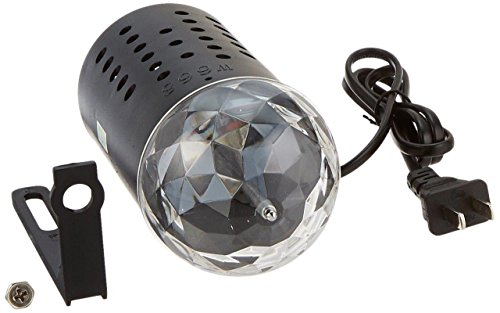 Lightahead LED full 3 color stage light 3W Crystal Rotating RGB Stage Light for Disco party club bar DJ