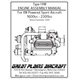 Type 1VW Engine Assembly Manual For VW Powered Sport Aircraft 1600cc - 2300cc