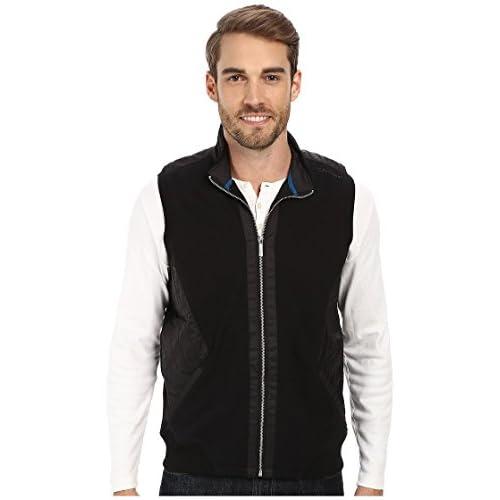 [カルバンクライン] Calvin Klein メンズ Mix Media Pique Fleece Sweatshirt ジャケット Black MD [並行輸入品]