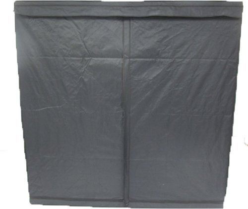 Aviditi PTU-69 Mylar Reflective Hydroponic Grow Tent, 77-Inch Wide by 77-Inch Deep by 77-Inch High