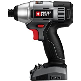 Bare-Tool PORTER-CABLE PC18ID 18-Volt Cordless Impact Driver (Tool Only, No Battery)