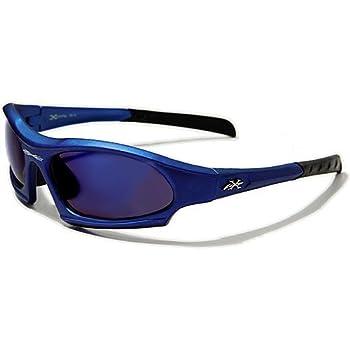 X-Loop Lunettes de Soleil - Sport - Cyclisme - Ski - Mode - Conduite - Moto - Plage / Mod. 5101 Bleu / Taille Unique Adulte / Protection 100% UV400