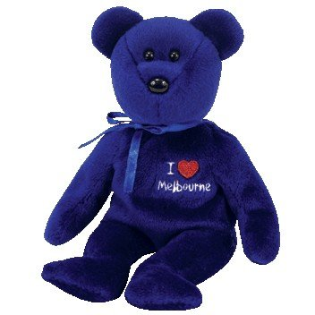 TY Beanie Baby - MELBOURNE the Bear (I Love Melbourne - Australia Exclusive)