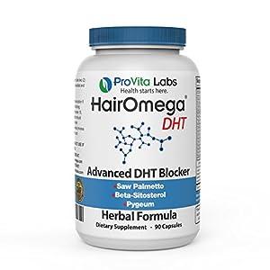 Hairomega DHT Blocker Hair Growth Support Supplement