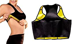 Evana Hot Sweating Body Shapers Slimming Sports Bras (Small)