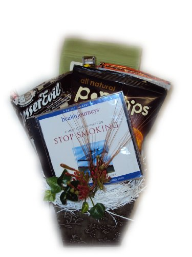 Stop Smoking Guided Imagery Gift Basket