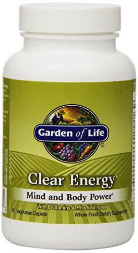 Garden Of Life Clear Energy Mind And Body Power, 60 Caplets